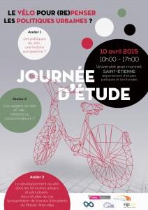 Affiche Le vélo